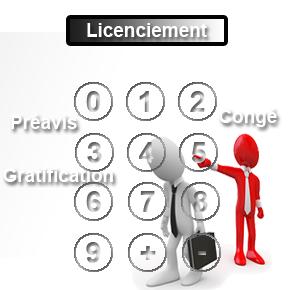indemnité de licenciement calculatrice