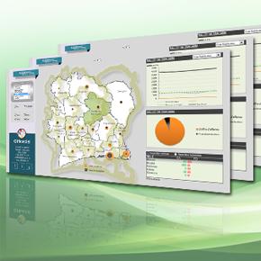 côte d'ivoire datavisualisation chiffre d'affaires